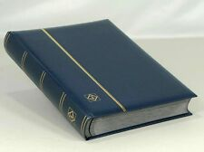 Lighthouse Leatherette Stockbook (64 Black Pgs.) Blue - LSP4/32 - Free Shipping