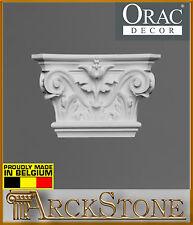 ARCKSTONE ORAC DECOR Serie Luxxus K 201 Capitello corinzio poliuretano bianco