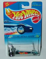 Hot Wheels Racing Metals Dragster Blue Chrome Sp5's #340 Malaysia 1995