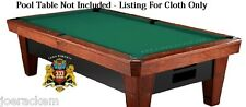 SIMONIS 760 CLOTH - 12' Set, STANDARD GREEN Pool Table Cloth - $25 Value added