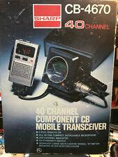 Sharp CB 4670 40 Channel CB Radio