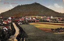 Görlitz Sachsen Landeskrone  Postkarte 1919