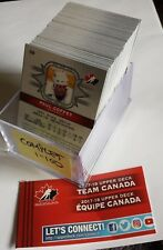 2017 UPPER DECK COMPLETE BASE SET 1-100 UD TEAM CANADA CANADIAN TIRE MCDAVID +++