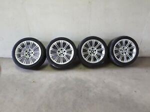 4 BMW M-Felgen E61 E60 5er 245/40R18 8Jx18 EH2