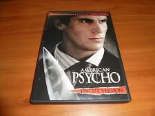 American Psycho (Dvd 2005 Widescreen Uncut Version) Christian Bale Used