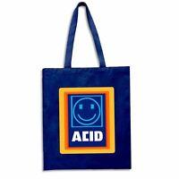 Acid Aldi Techno House Dance Music Rave Techno DJ Tote Shopping Bag