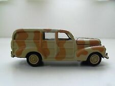 WWII M4a3 Sherman Tank 2004 Johnny Lightning Military Muscle 1 100