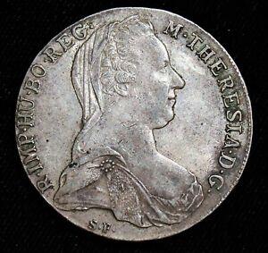 Austria: Maria Theresa Taler 1780-SF. AU. Dav-1150