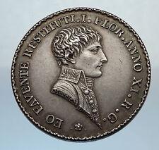 1803 FRANCE Napoleon I Bonaparte  SILVER FRENCH Jeton Medal NOT Coin i71317