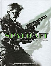 SPYCRAFT Espionage Role-Playing Game Book – Patrick Kapera  2002 Hcvr  D20