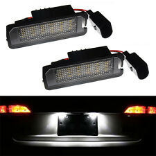 ECLAIRAGE PLAQUE LED VW GOLF 5 UNITED GT SPORT BLUEMOTION FEUX BLANC XENON
