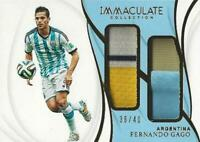 2018-19 Panini Immaculate Soccer Collection Jumbo Dual Patches Set - /50 or Less
