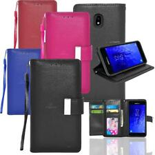 For Samsung Galaxy J3 V 3rd Gen 2018 Star Achieve Leather Wallet Case Flip Cover