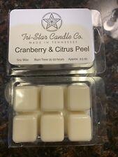 Cranberry & Citrus Peel Scented Wax Tarts/Melts - Handmade