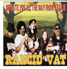 RANCID VAT CD We Hate You All The Way from Texas 2003