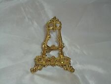 Business Card Holder Or Seat Name Brass Easel Or Stand - Rack 93 mm tall Plate