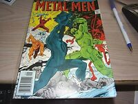 DC Metal Men X Effect Comic 1976