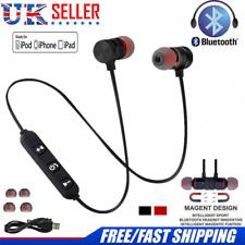 4.1 Bluetooth Sweatproof Wireless Earphones Headphones with Mic Sport Gym New UK
