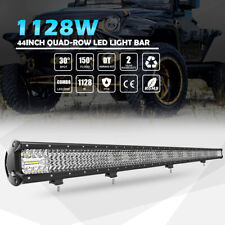 """4ROW 40"""" 44"""" 1128W LED Light Bar Off Road FOR Truck Boat Ford SUV 4WD UTE 42"""""""
