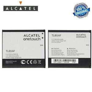 BATTERIA 1800Mah ORIGINALE ALCATEL per ONE TOUCH 997D X'POP 5035X 5035 tlib5af