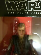 Set of 2 Star Wars The Black Series Anakin Skywalker 6 inch & Obi-Wan figures.