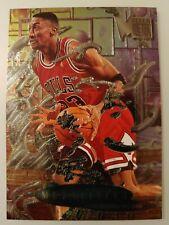 1996-97 Fleer Metal Scottie Pippen Metallized #229 Chicago Bulls