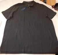 Polo Ralph Lauren Short Sleeve Polo Shirt XXL Classic Fit 735122 Dark Grey Hthr