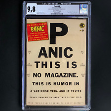 PANIC #8 (EC 1955) 💥 CGC 9.8 White Pgs ~1 OF ONLY 5 💥 Last Pre-Code Issue! Mad