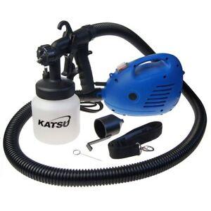 100492 KATSU 800ml 650W Electric Power Paint Painting Sprayer Gun Free UK P&P