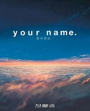 YOUR NAME NUMERATO LIMITED COLLECTOR'S EDITION 2 BLU RAY DVD CD BOOKLET  NUOVO
