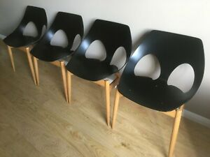Set of four Original Vintage Jason Dining Chairs Carl Jacobs Frank Guille Kandya