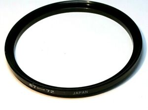 67mm to 72mm filter  ring Metal adapter threaded step-up wide angle