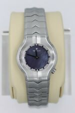 Tag Heuer Alter Ego Watch Womens LADIES WP1312 MOTHER OF PEARL MOP BLUE PURPLE