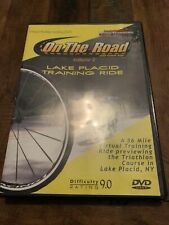 On The Road With Coach Troy Lake Placid Training Ride Cycling Dvd Difficulty 9.0
