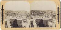 Panorama Da Betlemme Palestina Foto Stereo Stereoview Vintage