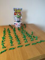 Disney Pixar Toy Story Collection - Bucket O Soldiers + Buzz Light Year Bundle