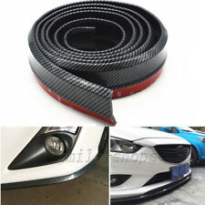2.5M Carbon Fiber Look Front Bumper Lip Protector Spoiler Trim for Cadillac