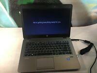 "HP EliteBook 840 G1 14"" i3 2.1ghz - 120GB SSD - TESTED WORKING Windows 10 Pro"