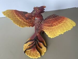 "Vintage  2004  PAPO SCHLEICH Phoenix Fire Bird 6"" Figure made in Germany"