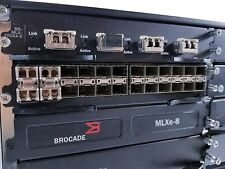 Brocade MLXe-8 XMR Management - BR-MLX-10GX4-X 10GB + 1GB Modules **Warranty**