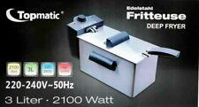 TOPMATIC friggitrice elettrica professionale 3.0L 2100W