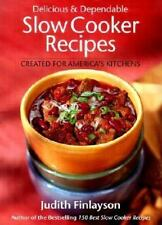 Delicious and Dependable Slow Cooker Recipes-ExLibrary
