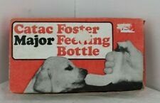 Puppy or Kitten Catac Foster Feeding Bottle Set including teats & cleaning brush
