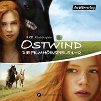 BINKE/LINKE/VOGEL/BUCK/FROBOESS/+ - OSTWIND-(1+2)-DIE FILMHÖRSPIELE  3 CD NEW