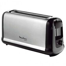 Tostador Tostadora de pan molde acero inoxidable Moulinex LS260800 Larga 1000W