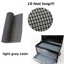 """Tool Box Drawer Liner Non Slip Padded Shelf Foam Rubber Roll Mat 120"""""""