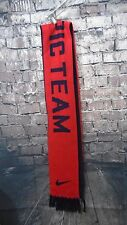 NIKE US Soccer Scarf - Navy & Red U.S. Olympic Team Vancouver 2010