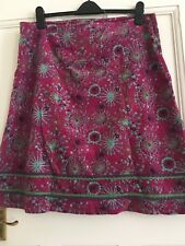 Mistral Size 8 A-line Bright Pink Skirt RRP 49.99