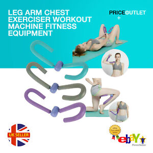 Leg Arm Chest Exerciser Workout Machine Fitness Equipment for Thigh Master Tools