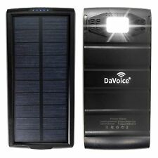 Solar Power Bank Solar Charger, Solar Phone Charger, 20000 mah Portable Charger